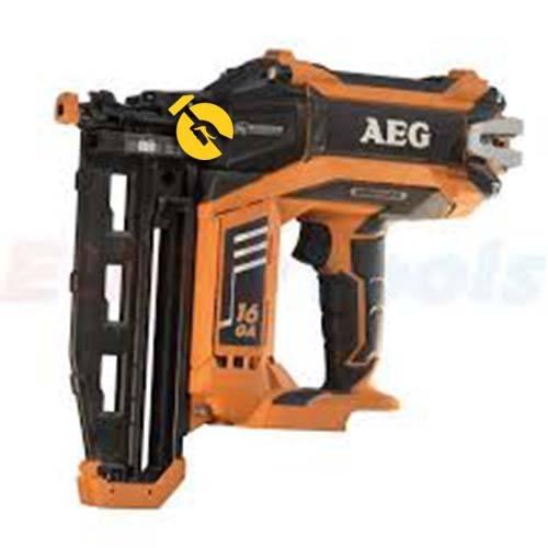 aeg Степлер аккумуляторный AEG B16N18-0 (4935451533)