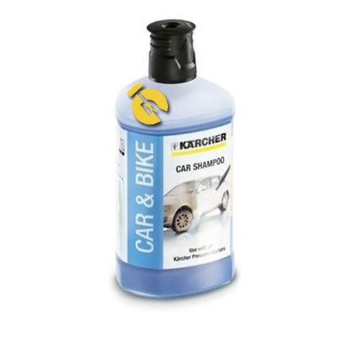 karcher Автомобильный шампунь Karcher Plug n Clean 3-в-1  1л (6.295-750.0)