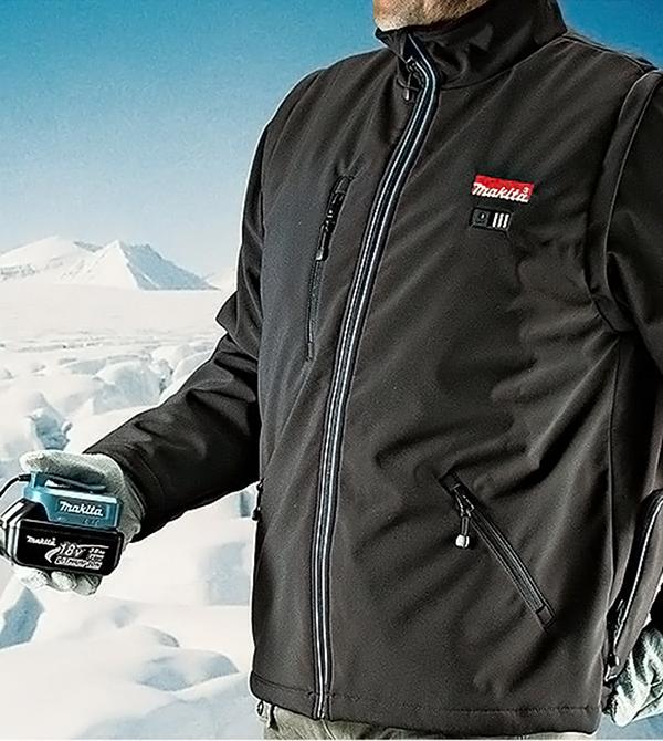 Куртки макита с батарейкой
