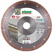 Диск алмазный сплошной Distar 1A1R 230x25,4x1,6мм Hard ceramics Advanced (11120528017)