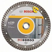 Диск алмазный турбо Bosch Standard for Universal Turbo 230х22,23 мм, 10 шт. (2608603252)